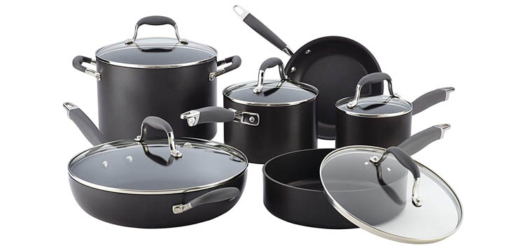 Anolon Advanced 11 Piece Cookware Set