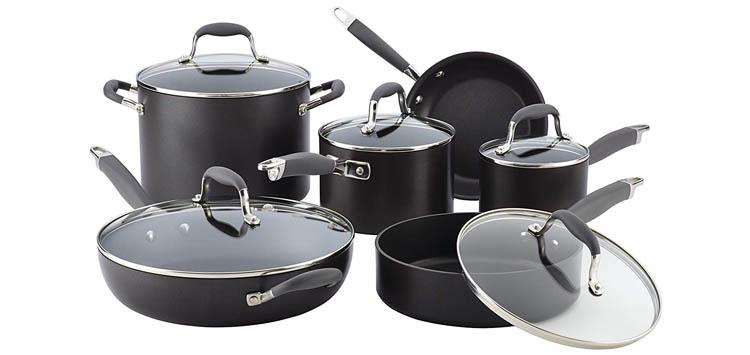 Anolon Advanced 11 Piece Cookware Set