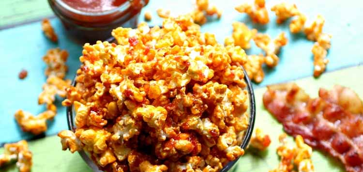 Barbecue Bacon Popcorn