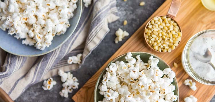 Fancy Truffle Salt Popcorn