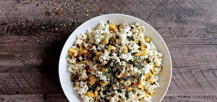 Japanese Furikake Popcorn