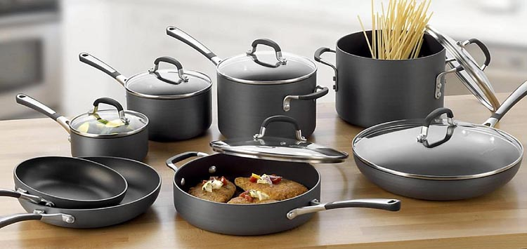 Pieces of Cookware