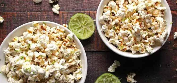 SEA SALT & LIME POPCORN