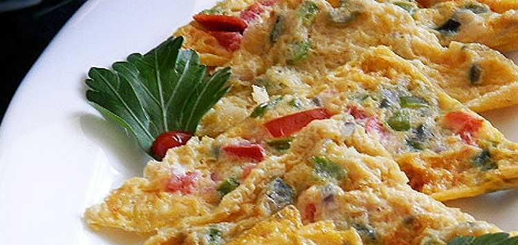 Sandwich Maker Omelette