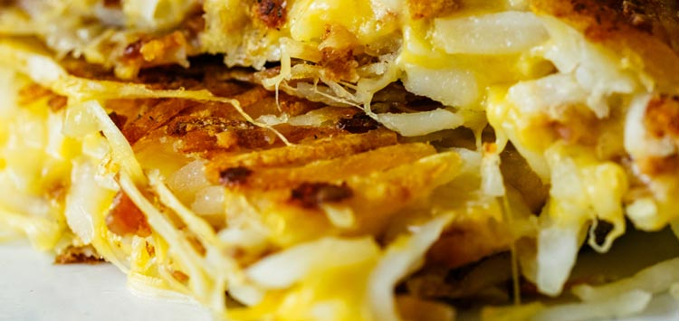 Shredded Panini Press Hash Browns