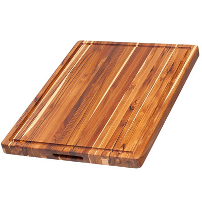 Teakhaus Teak Cutting Board with Hand Grip