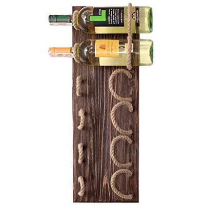 MyFancyCraft Handmade Natural Pine Wine Rack