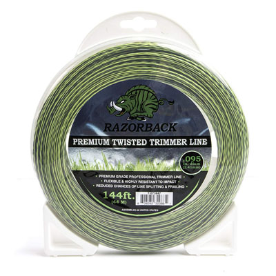 Prime-Line 7-073847 Razorback Premium Twisted Trimmer Line .095