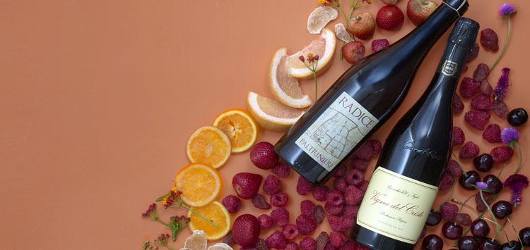 Red Winter Sparkling Wine