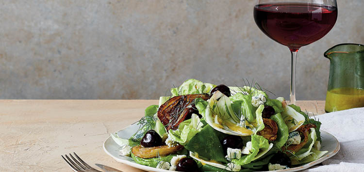 Salad and Wine Food Pairings