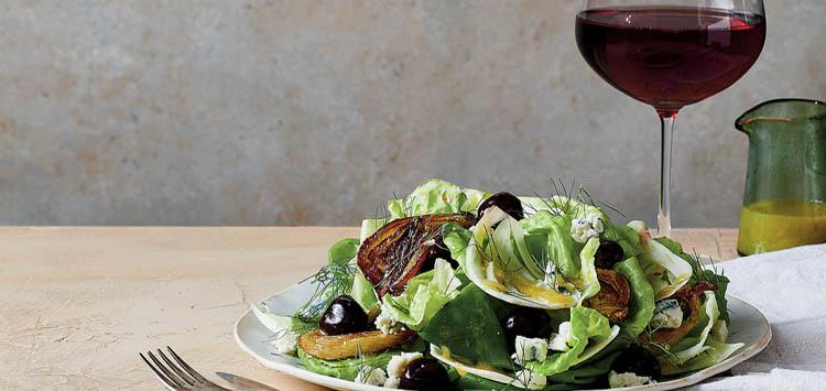 Salad and Wine Food Pairings