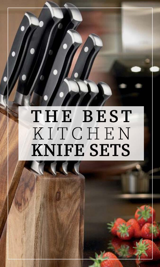 Best Kitchen Knife Sets Side Bar Banner