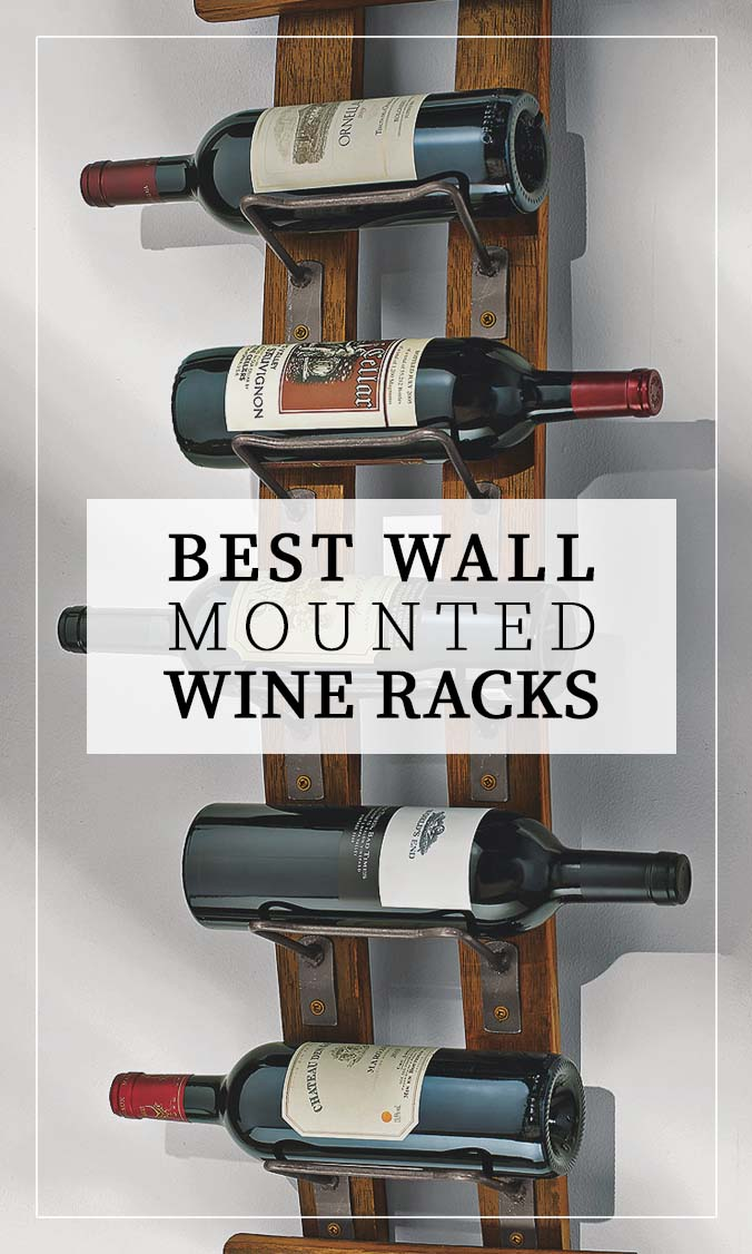 Best Wall Wine Racks Side Bar Banner
