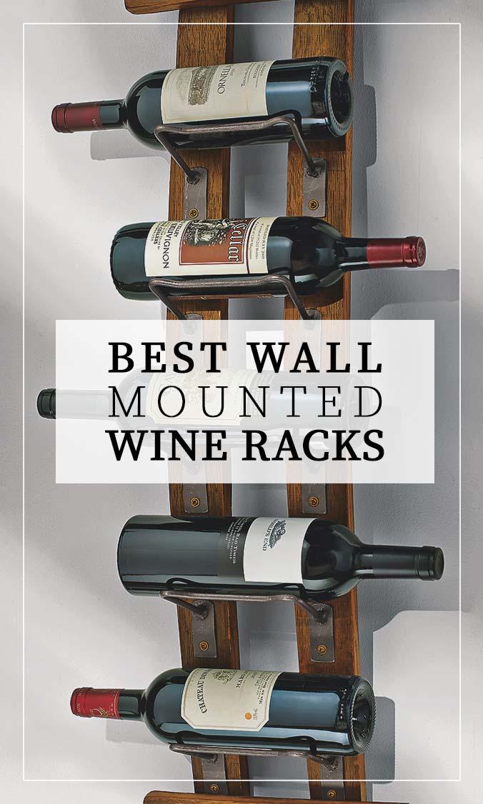Best Wall Wine Racks Side Bar Banner