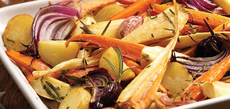 Christmas Meal Vegetables
