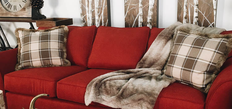 Comfort and Color of Pillows For Cozy Winter Home
