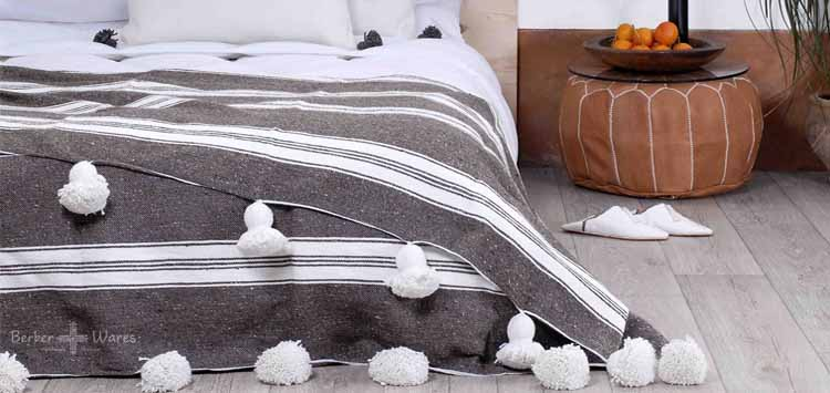 DIY Coverlet with Tassels
