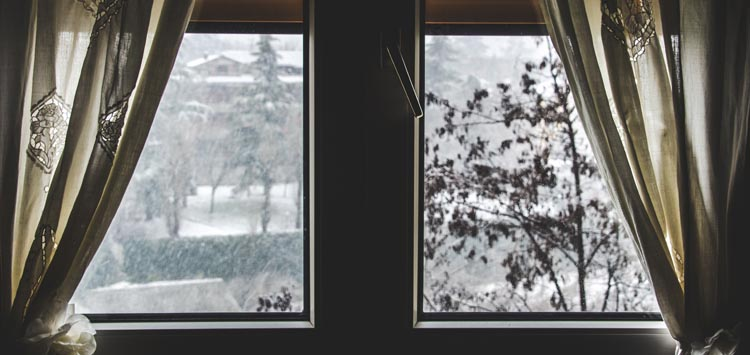 Drape Windows for Winter Home Ideas