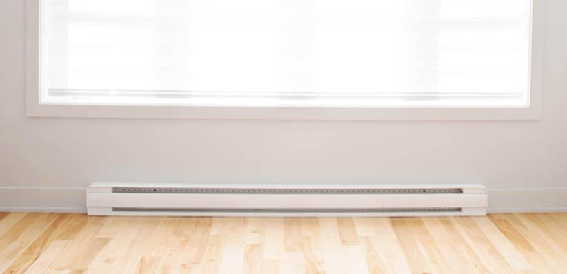 Installing Baseboard Heaters