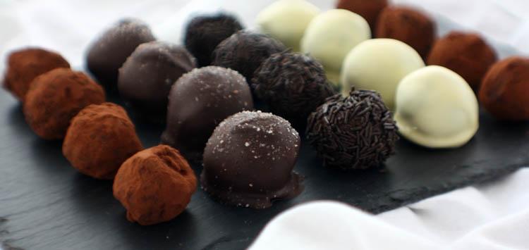 Make Chocolate Truffles Winter Weekend Ideas