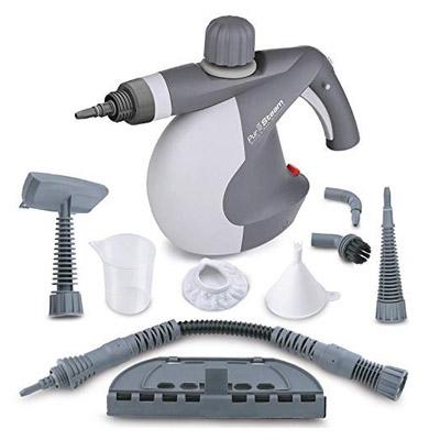 PurSteam Best Handheld Carpet Cleaner Pressurized Steam Cleaner