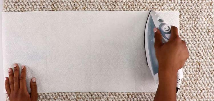 Warm Wax to Remove it From Your Carpet