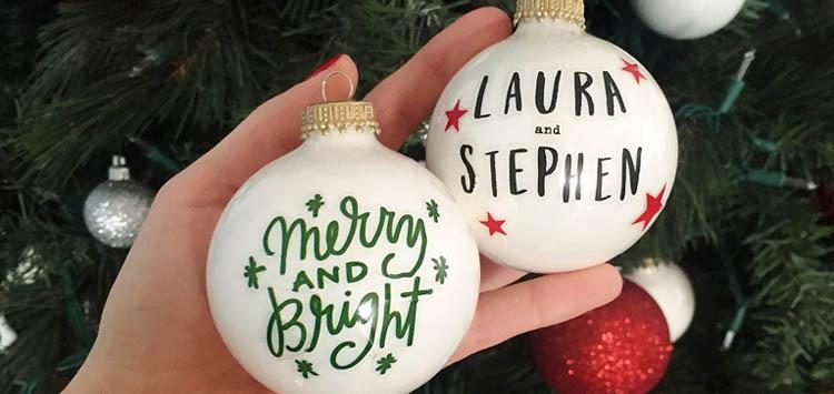 Weekend Winter Ideas DIY Christmas Ornaments