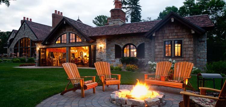 Winter Weekend Fire Place Ideas