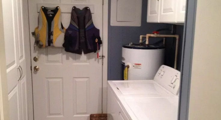 Plan Out the Basics Hiding a Water Heater