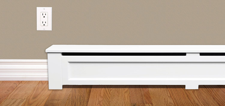 Types of Electric Heaters Basebord Heaters