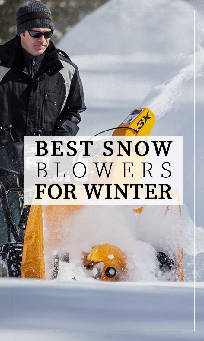 10 Best Snow Blowers Side Bar Banner