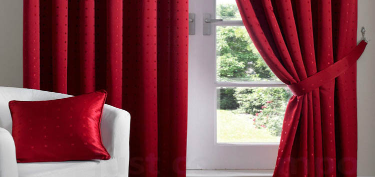 Adorn Your Curtains With Clothing Fit For Winter