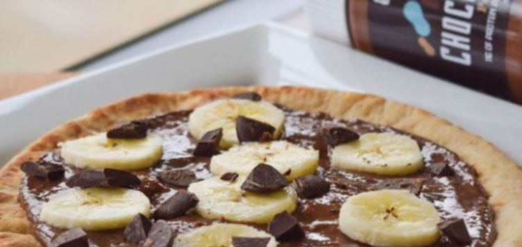 Start preparing the chocolate crumble topping