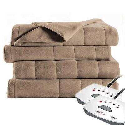 Sunbeam Electric Blanket Royal Dreams Quilted Fleece