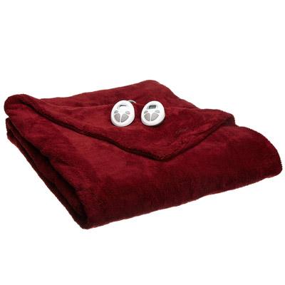 Sunbeam Luxurious Premium Plush King Electric Heated Blanket