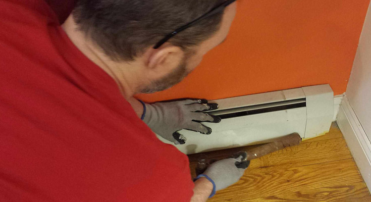 Low Maintenance Electric Baseboard Heaters Pros