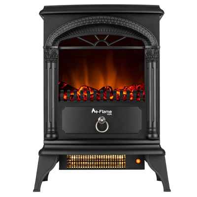e-Flame USA Hamilton Free Standing Electric Fireplace