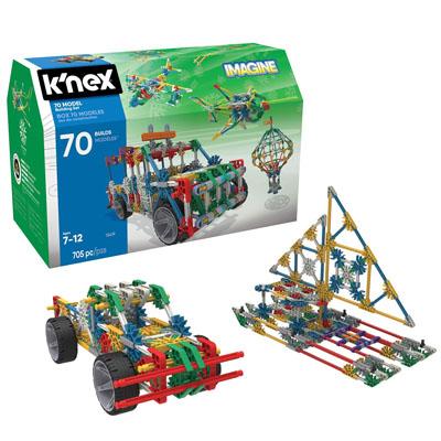 KNEX 70 Model Building Set - 705 Pieces