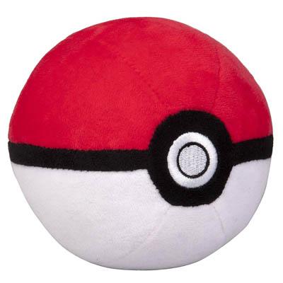 Pokémon 4 inch Pokéball Plush - Soft Stuffed Poké Ball