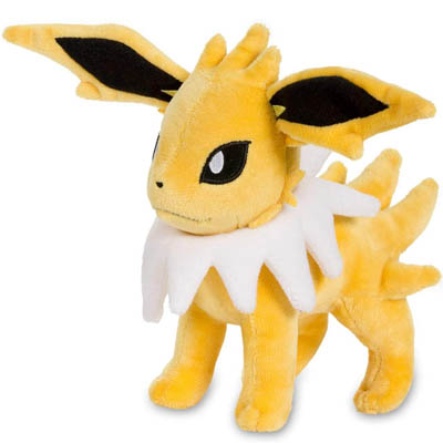Pokemon Cards Jolteon Poke Plush