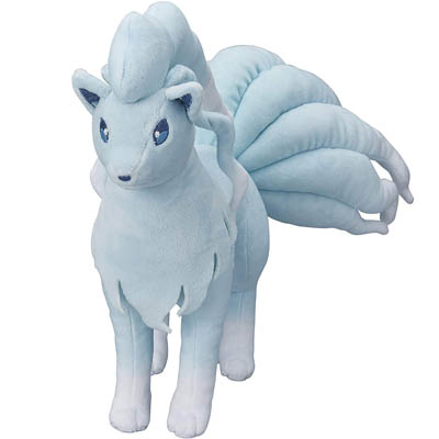 Pokemon Center Original (10-Inch) Stuffed Poke Plush Doll Alolan Ninetales
