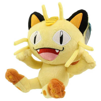 Pokemon Meowth 7 Inch Plush Stuffed Animal