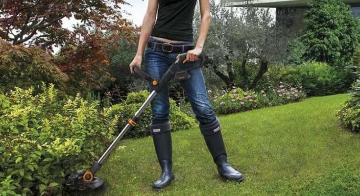 WORX WG163 String Trimmer Dual Battery