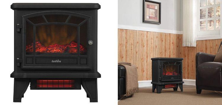 Duraflame Freestanding Infrared Quartz Fireplace Stove